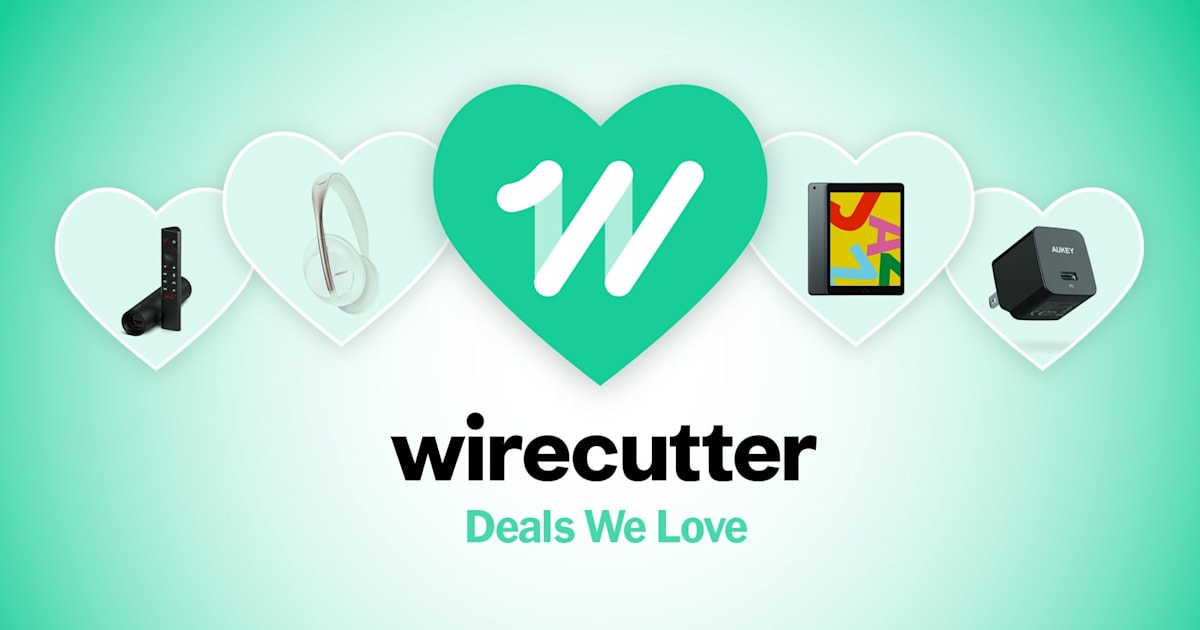 Wirecutter's best deals: Save $50 on a 7th-gen Apple iPad