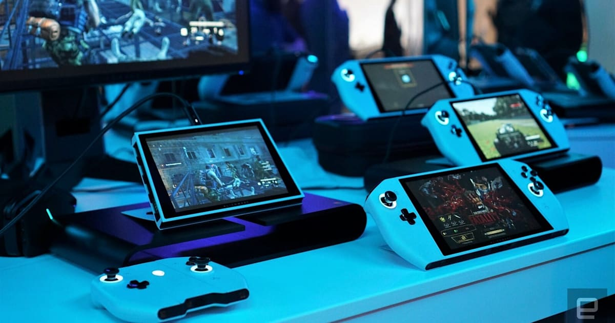 The Morning After: Dell's Concept UFO is like a Switch for PC gaming