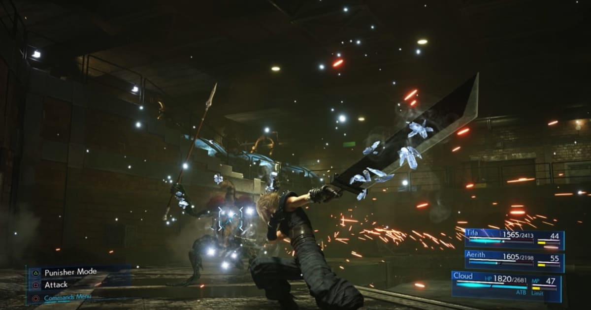 So far, 'Final Fantasy VII Remake' is not a disaster