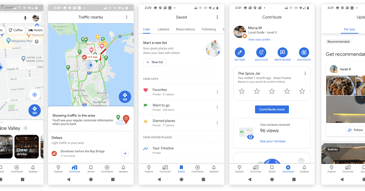 Google Maps for iOS and Android is getting a makeover