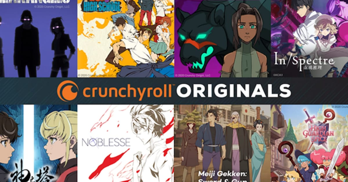 Crunchyroll details its first eight original anime productions