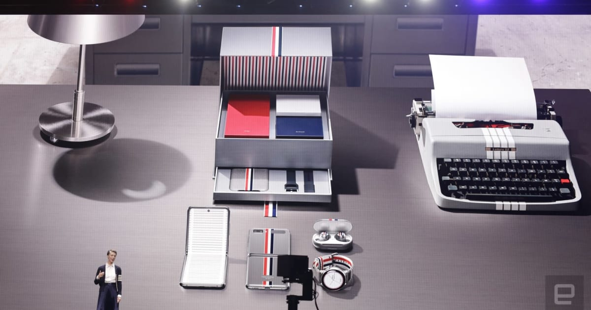 Samsung taps Thom Browne for special edition Galaxy Z Flip