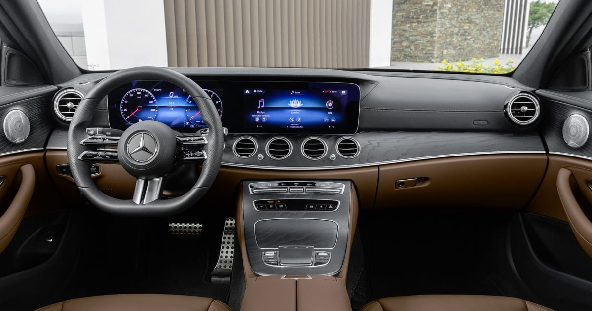 Mercedes' new E-Class knows when you're holding the wheel