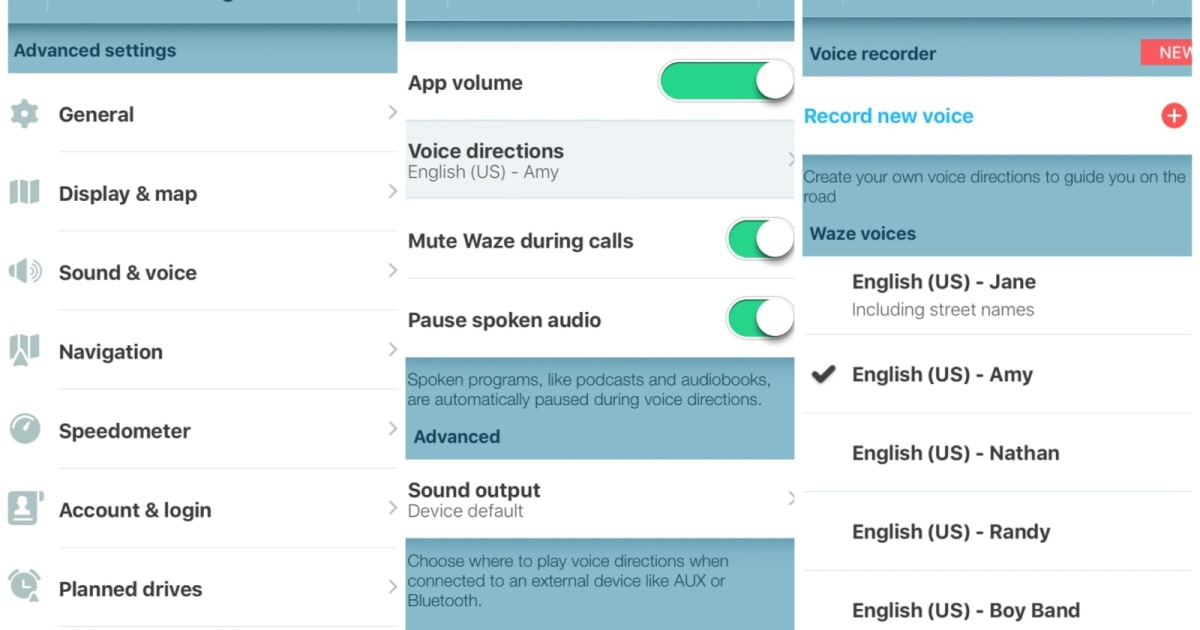 Use your own voice for Waze navigation prompts on iOS