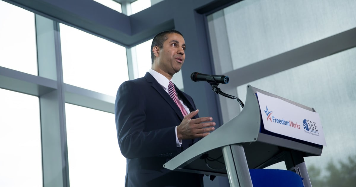 FCC Chairman outlines his plan to undo net neutrality