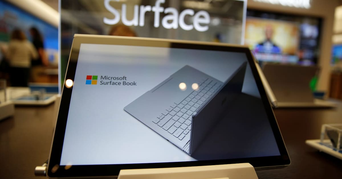 microsoft is leasing surface tablet and software bundles. Black Bedroom Furniture Sets. Home Design Ideas