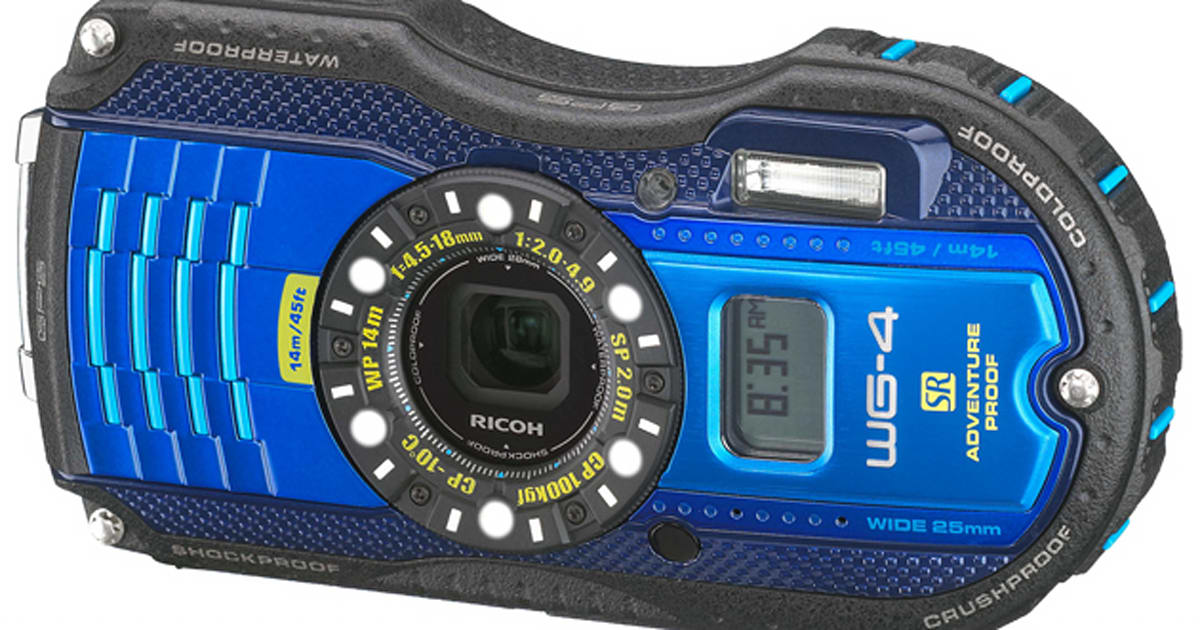 Ricoh's Rugged WG-4 And WG-20 Are Its First Cameras To