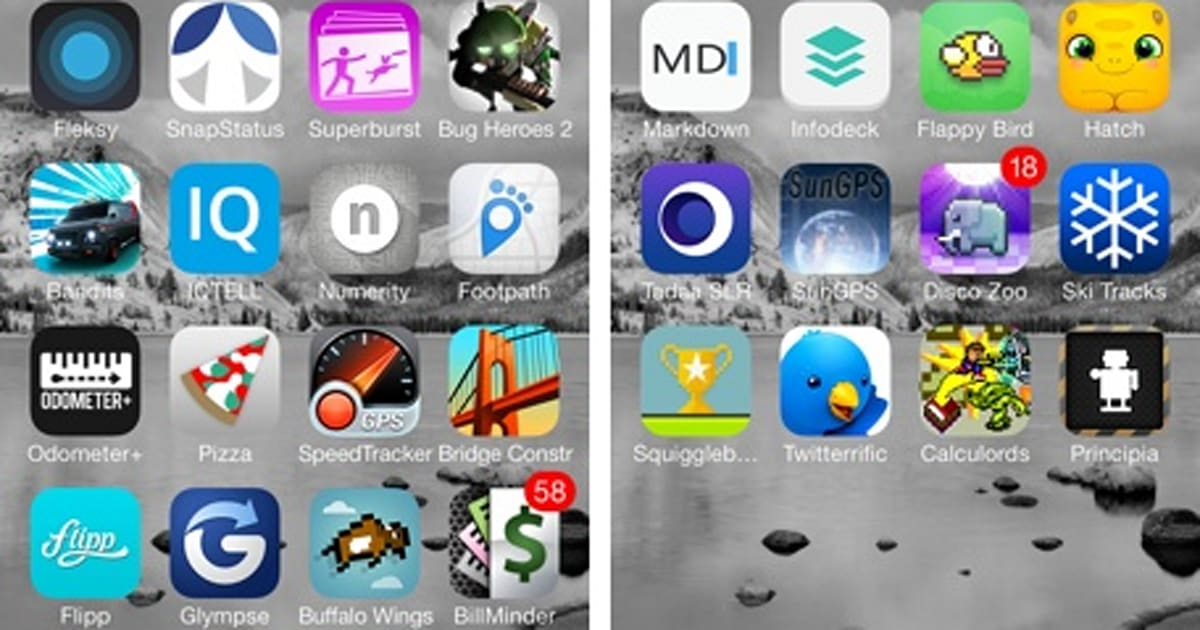 How to find an app that's missing on your iOS device