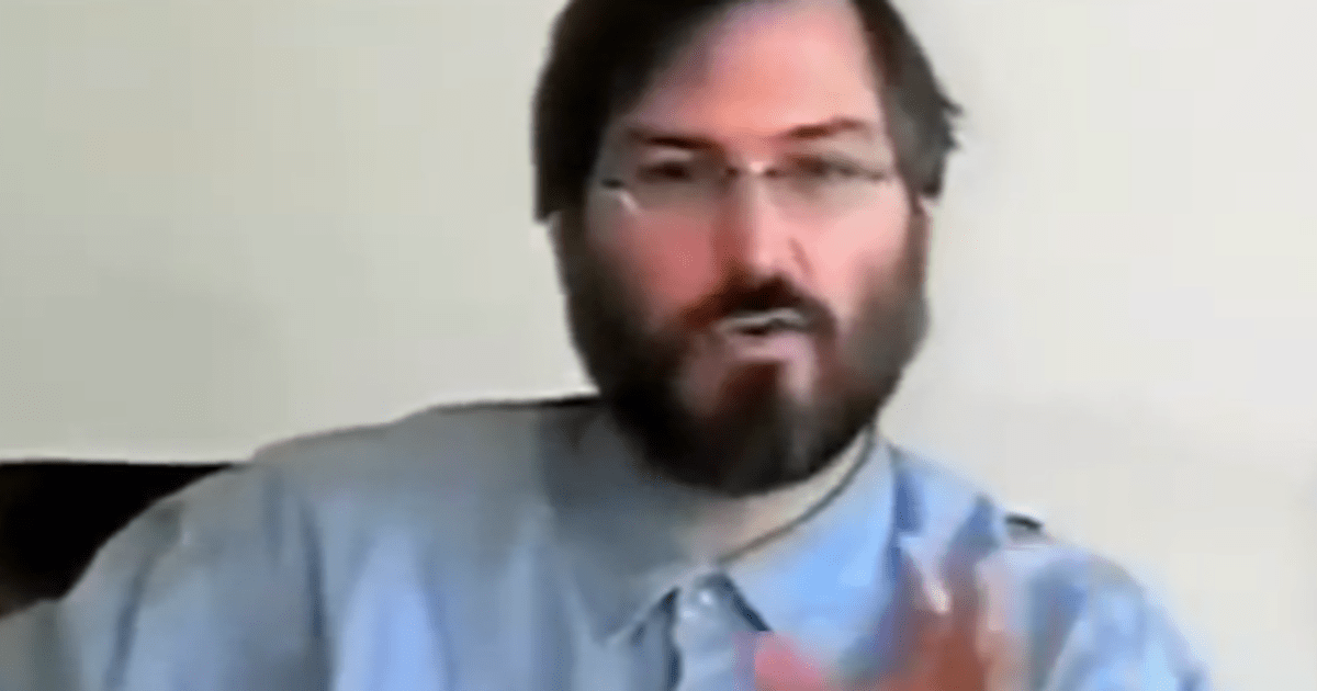 take an hour to watch the documentary steve jobs one last thing