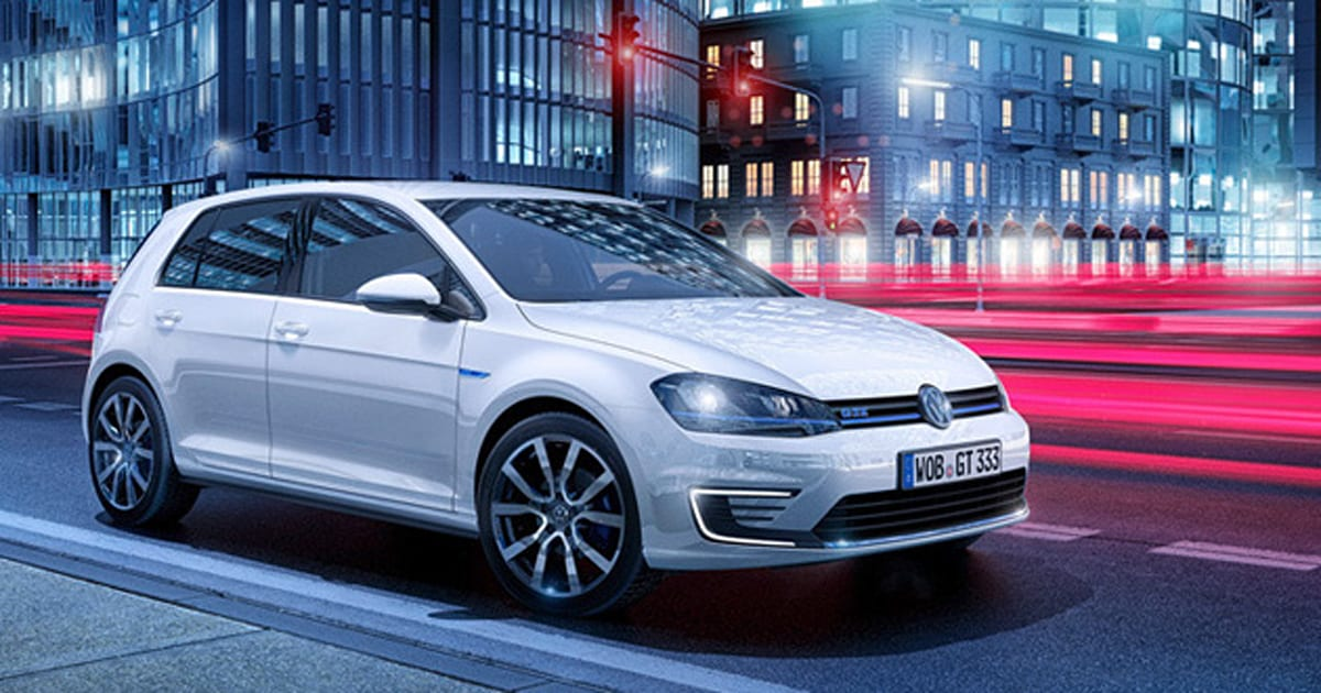 volkswagen 39 s golf gte is the fast plug in hybrid you might. Black Bedroom Furniture Sets. Home Design Ideas