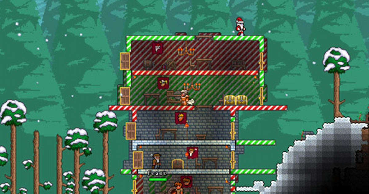 Christmas Terraria.Terraria Launches Christmas Update On Ios Android