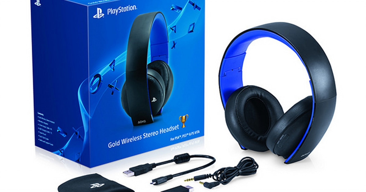 playstation 4 update supports sony 39 s pricey headsets including a new model. Black Bedroom Furniture Sets. Home Design Ideas