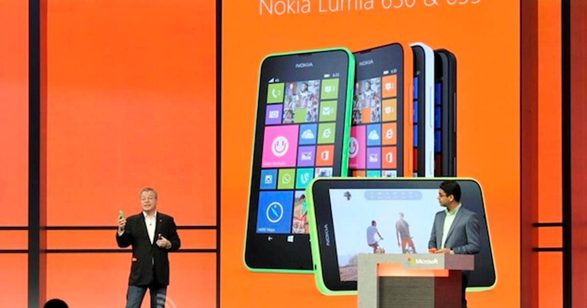 Nokia Announces The Budget Lumia 630 And 635 With Windows
