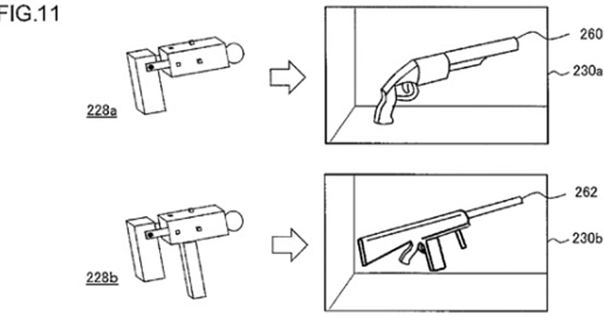 Sony files patent for modular, transforming PS Move-like