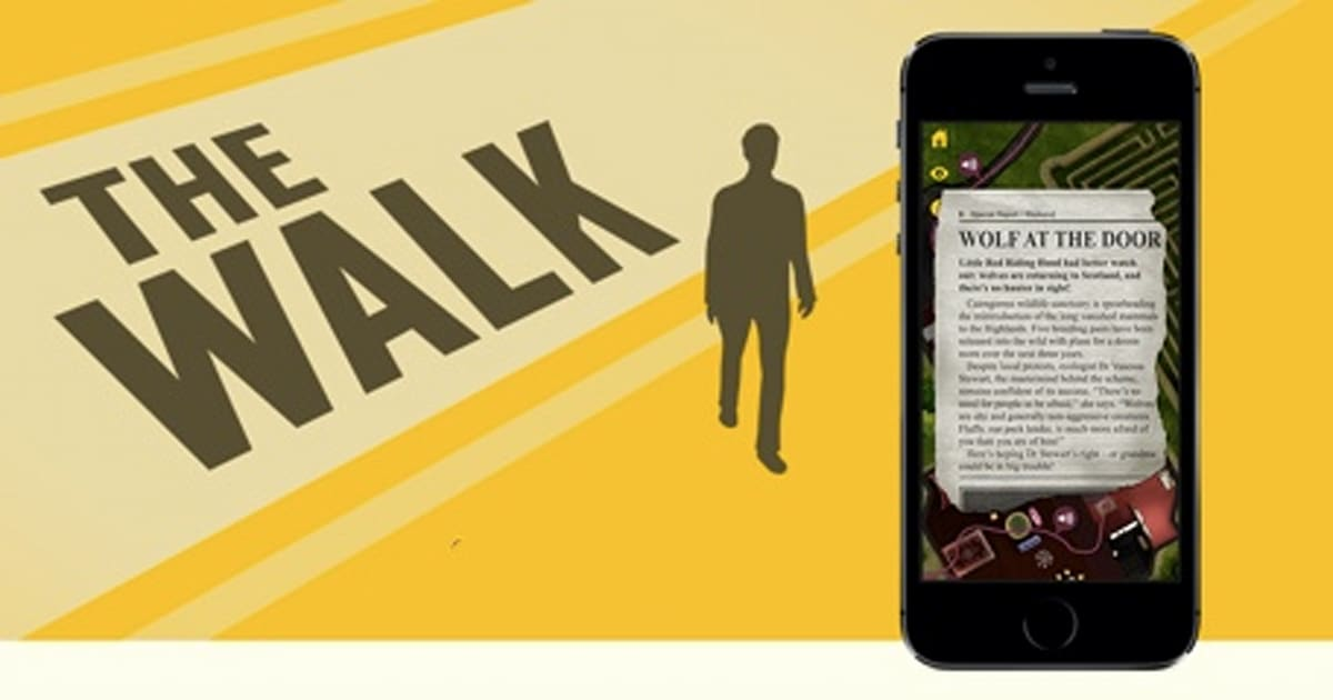 Daily iPhone App: The Walk adds some danger and intrigue