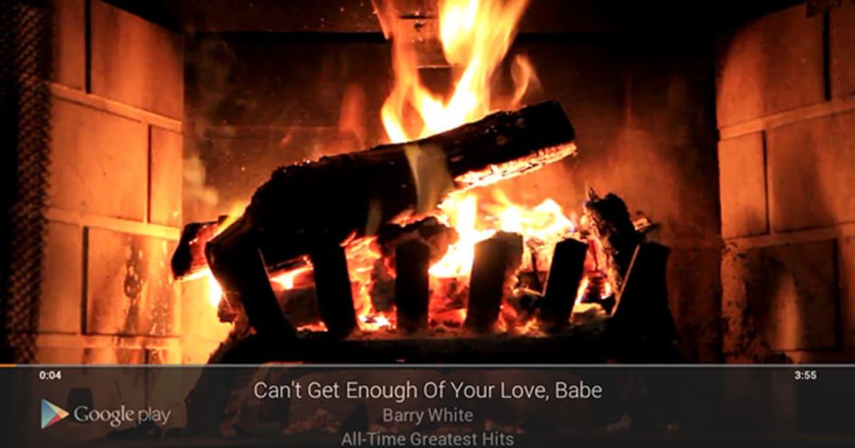 Fireplace Design fireplace screensaver : Chromecast's Fireplace Visualizer hopes to set hearts aflame on ...