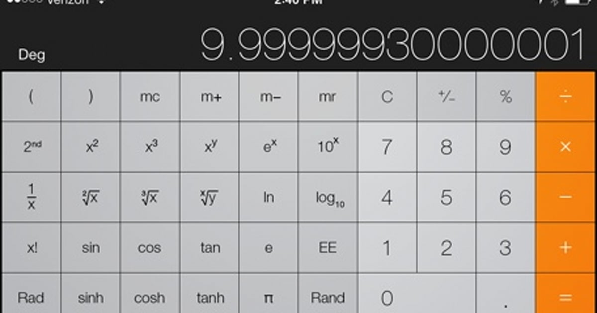 Calculating The Difference A Look At Calculator Accuracy In Ios