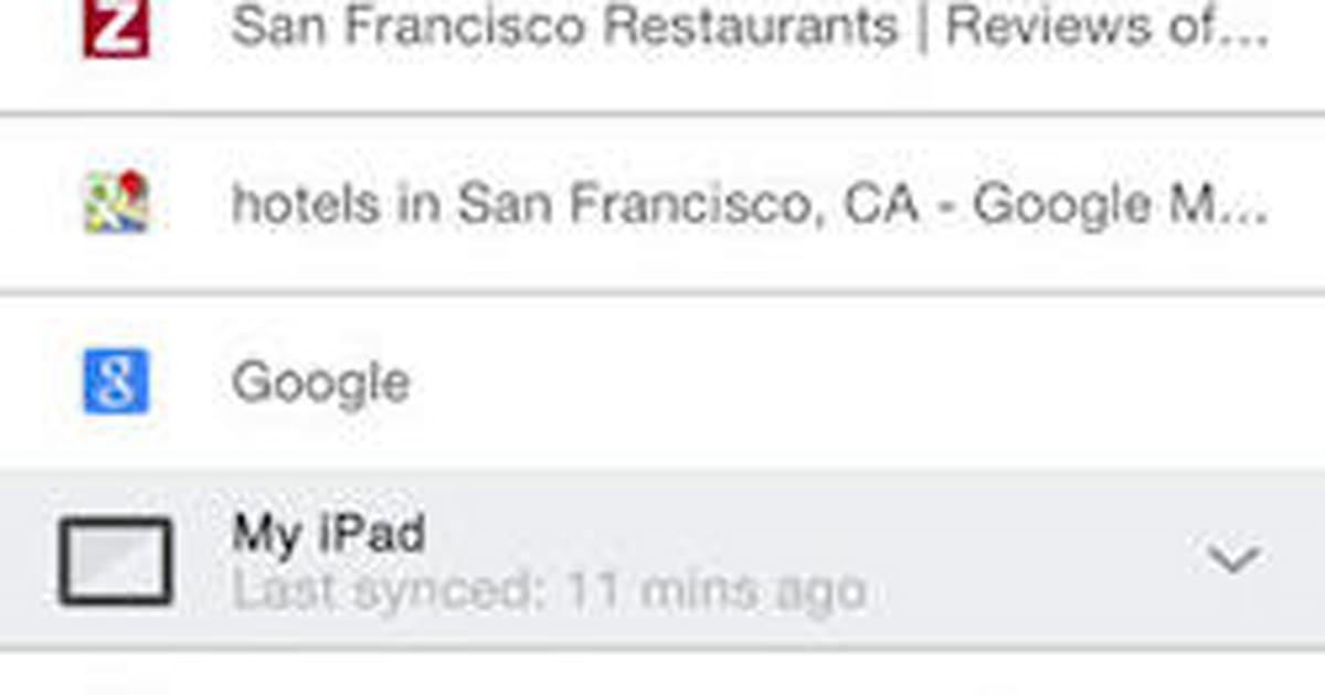 Google Chrome for iOS updated with Translate, reduce-data ...