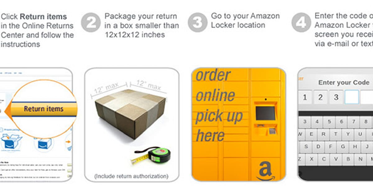 Amazon Delivery Lockers Now Also Accept Returns Updated