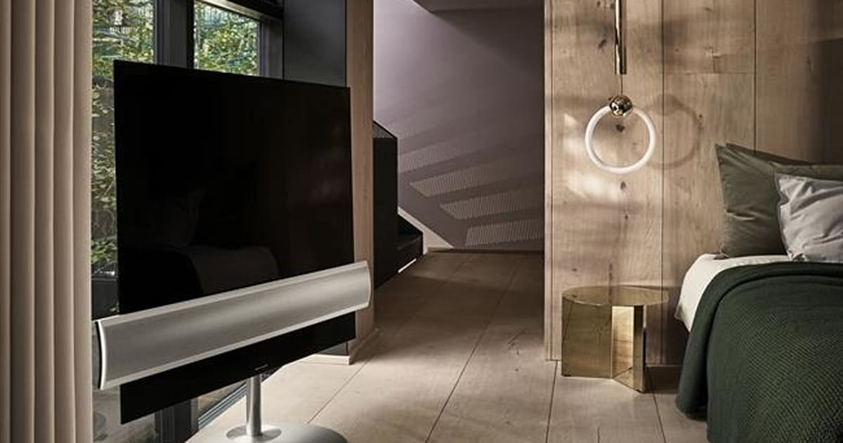 ifa beovision eclipse ein fernseher der sich mit der. Black Bedroom Furniture Sets. Home Design Ideas