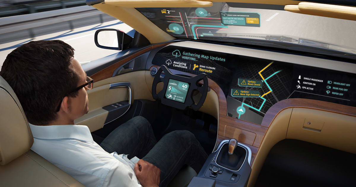 LG and Here help self-driving cars share their knowledge