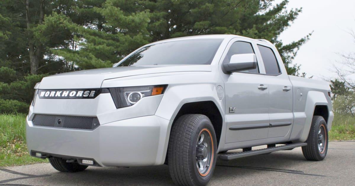 Workhorse W-15 Revealed: PHEV Pickup with 80-mile Range