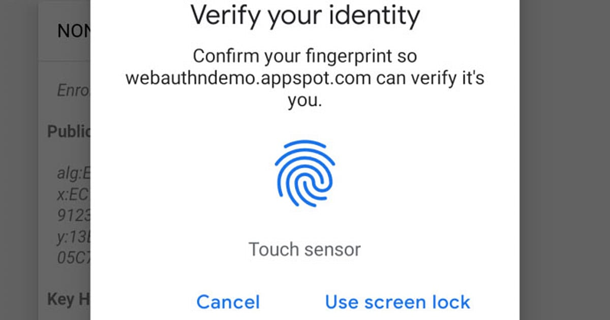 Chrome Gains Fingerprint Authentication on Android and Mac