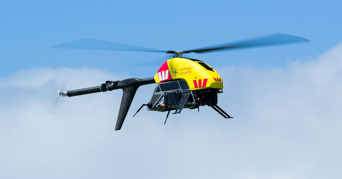 Lifeguard Drone Completes World First Ocean Rescue