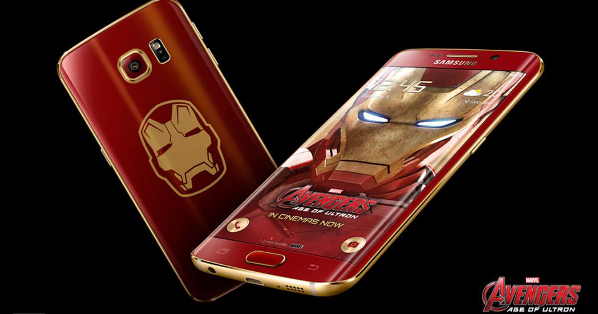 Samsung's Iron Man edition Galaxy S6 Edge lacks J A R V I S