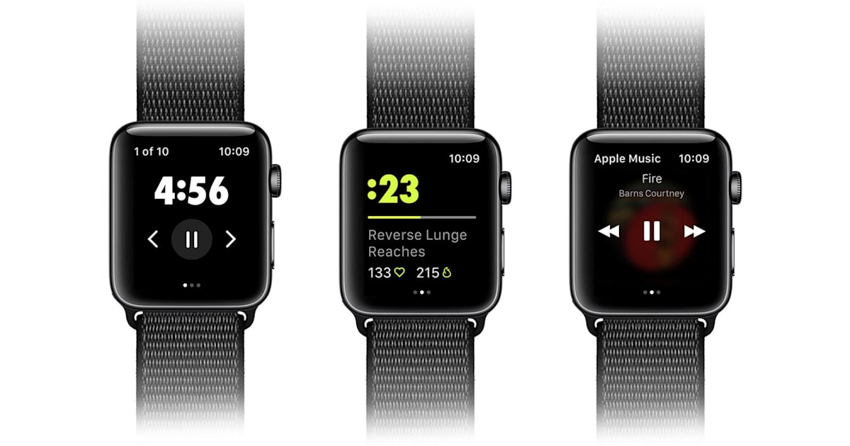 Nike Training Club for Apple Watch Helps You Focus on your Workout