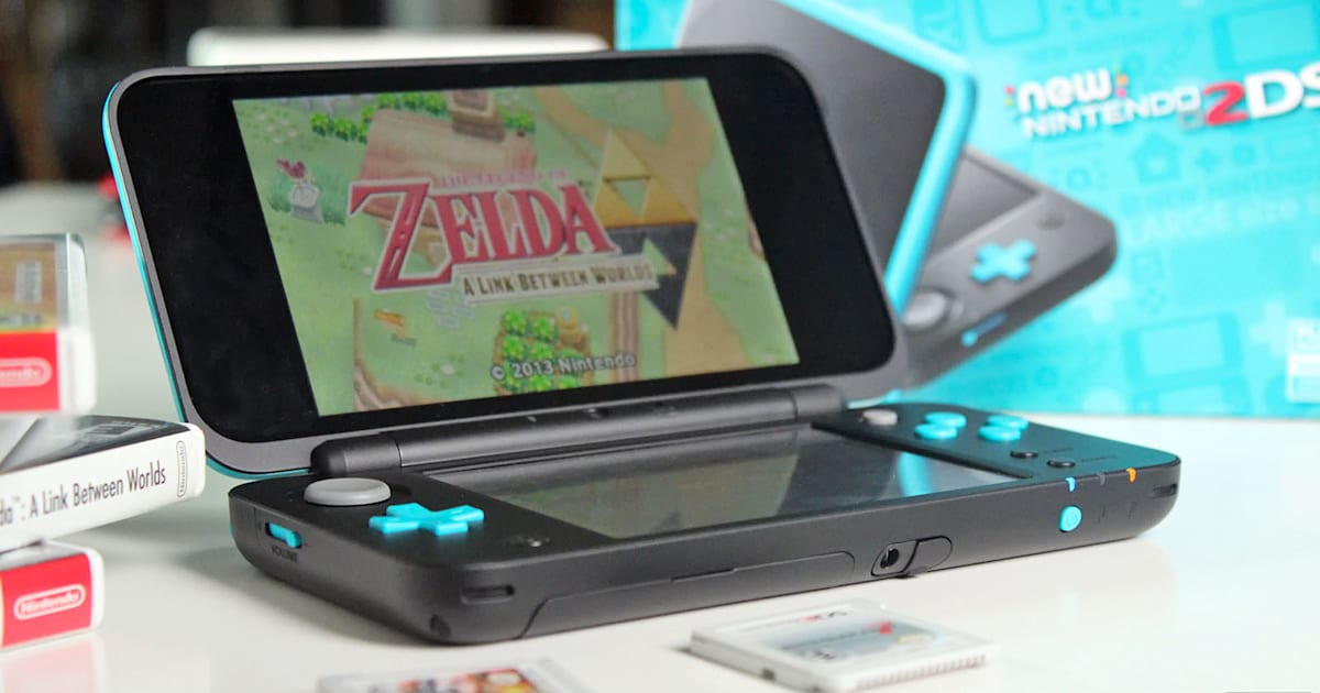 Nintendo's New 2DS XL is the closest you'll ever get to a