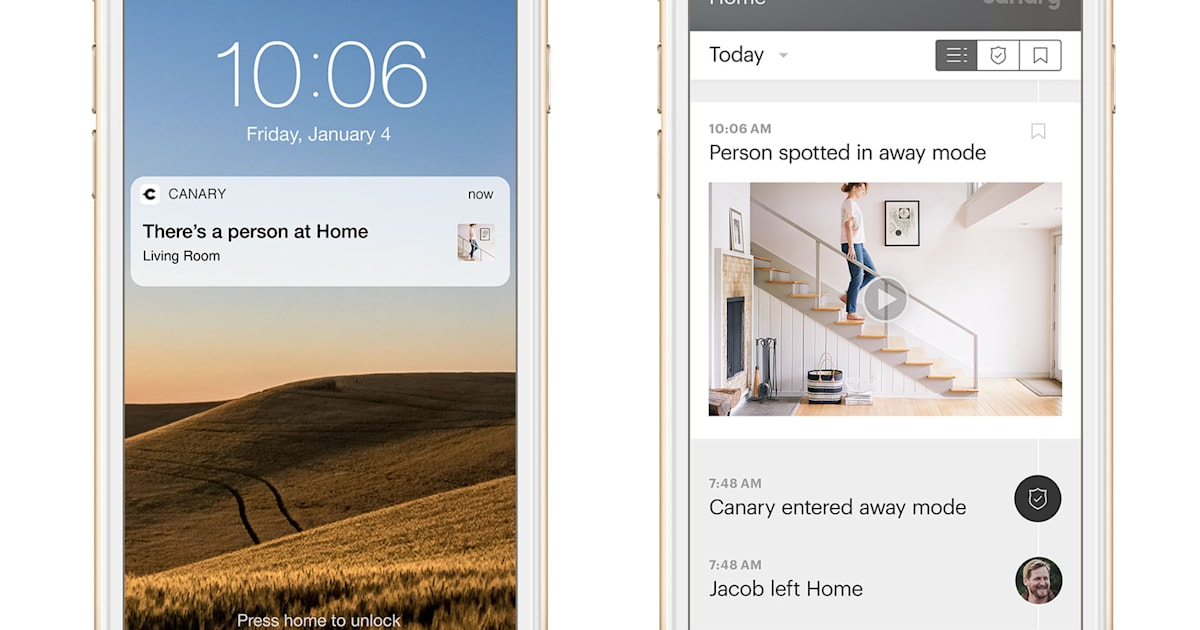 Canary's security cameras will soon detect people