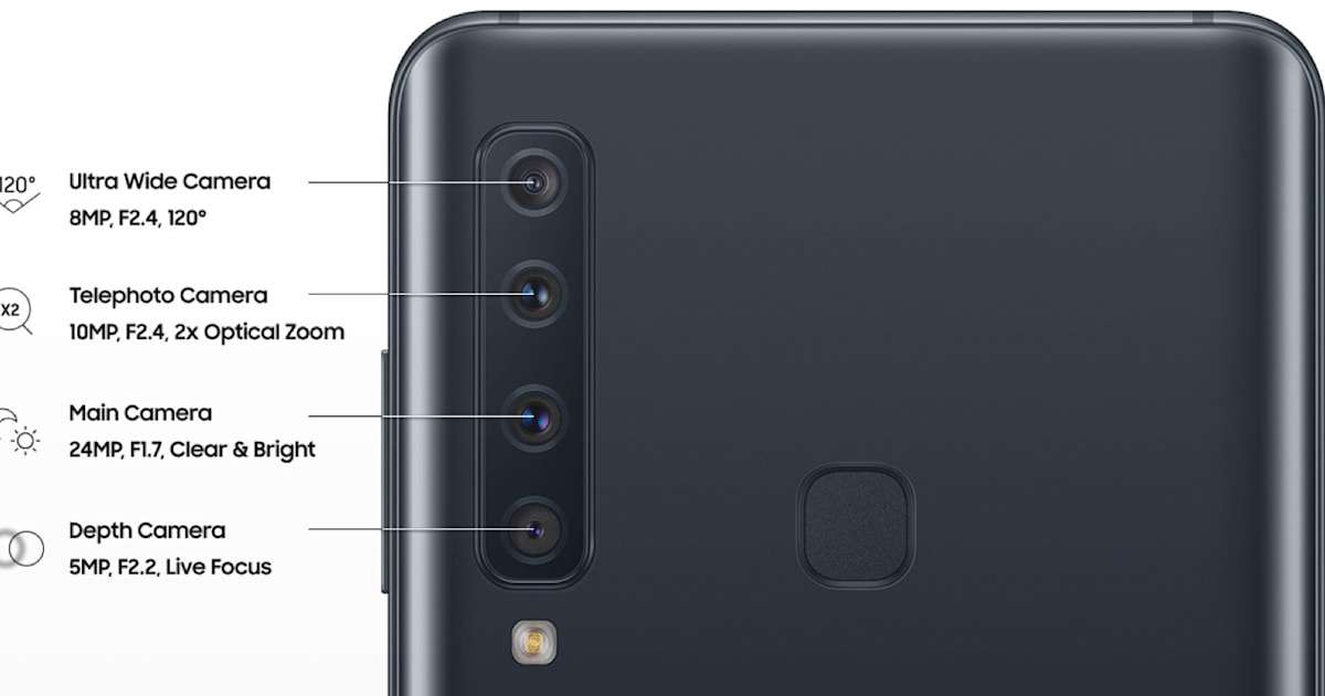 Samsung thinks you want a phone with four rear cameras
