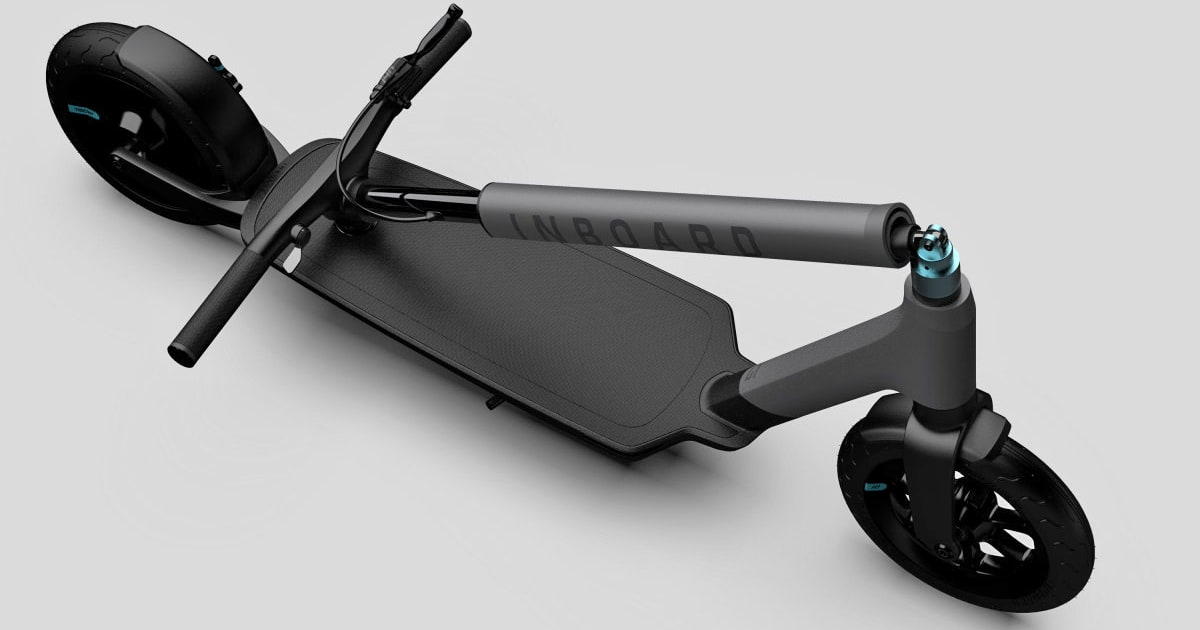 Inboard Shark Tank >> Inboard's new e-scooter packs swappable batteries
