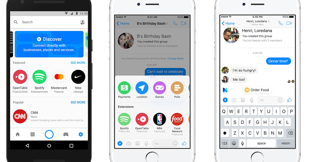 Facebook's Latest Messenger Makeover is all About Business