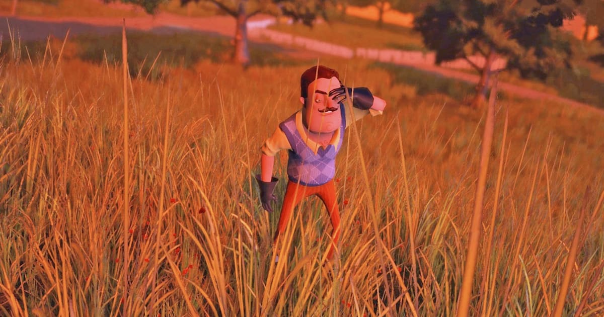 Stealth horror game 'Hello Neighbor' arrives on mobile devices