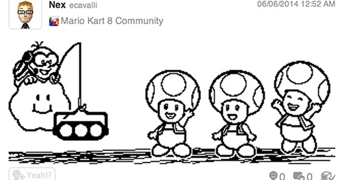 Miiverse users can now embed posts elsewhere on the 'net