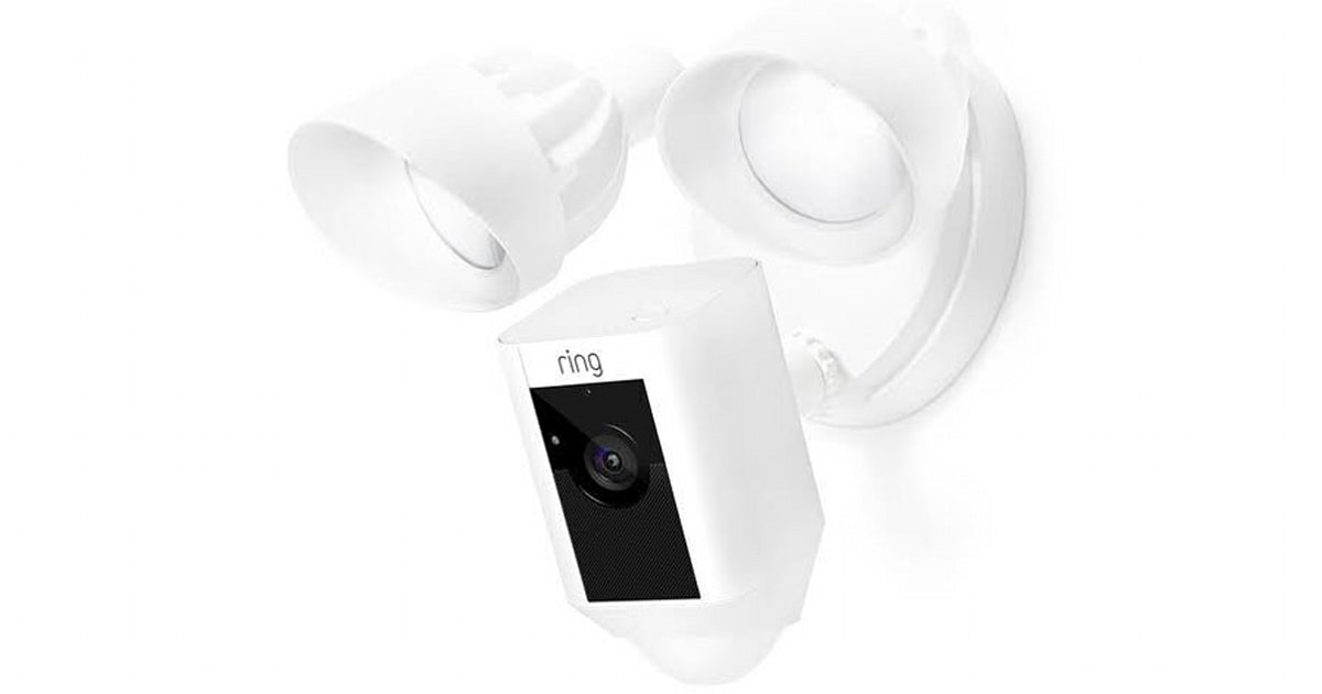 Ring Intros A Kinda Wireless Floodlight Security Camera