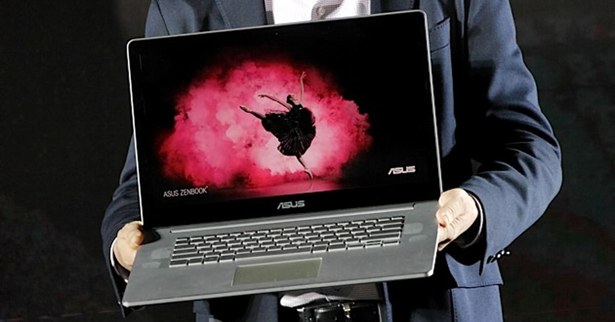 Asus Zenbook Nx500 Is A Thin And Light Laptop With A 4k