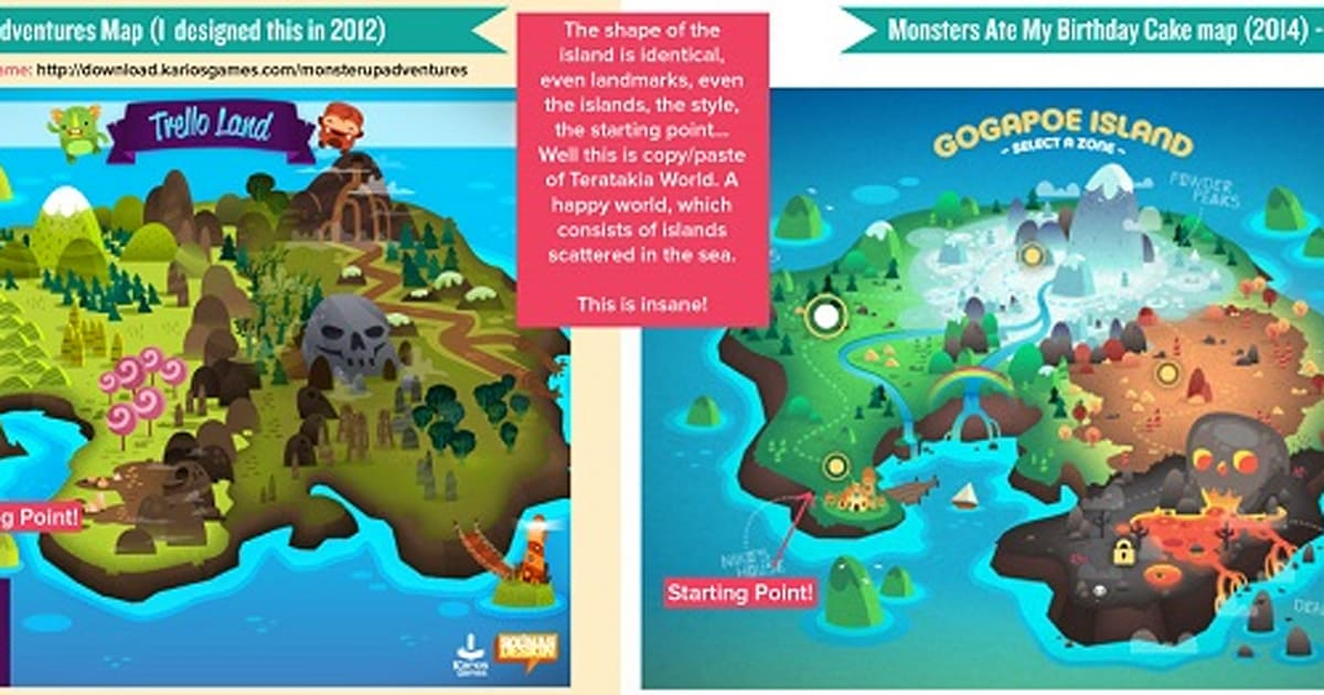 Monsters Ate My Birthday Cake Dev Accused Of Stealing Artwork Update
