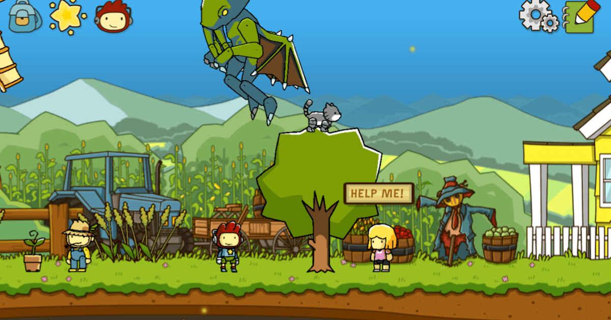 Word-puzzler 'scribblenauts unlimited' returns to mobile.