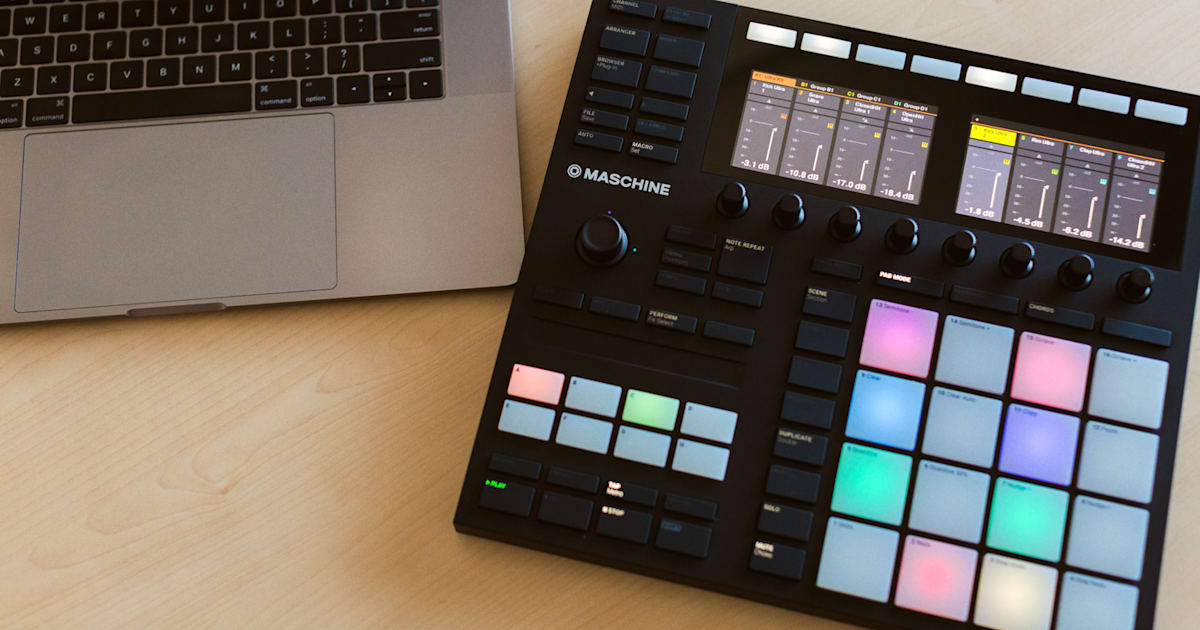 Native Instruments Maschine Gets Color Screens, Larger Pads