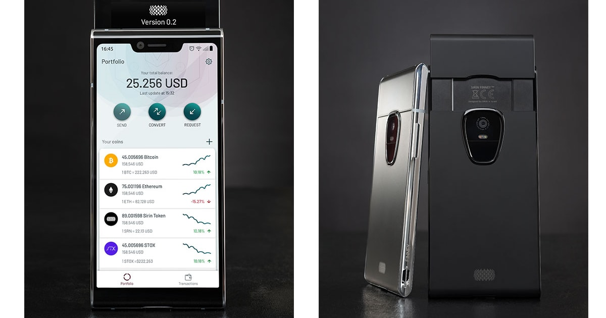 Sirin Labs' $1000 cryptocurrency phone arrives this November