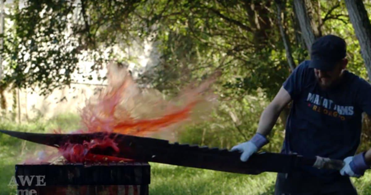 Great Knife: XXL-Messer Aus Silent Hill Lebensgroß Nachgebaut