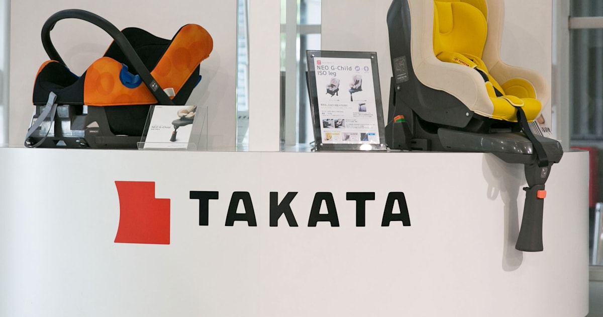 Faulty airbag maker Takata files for bankruptcy