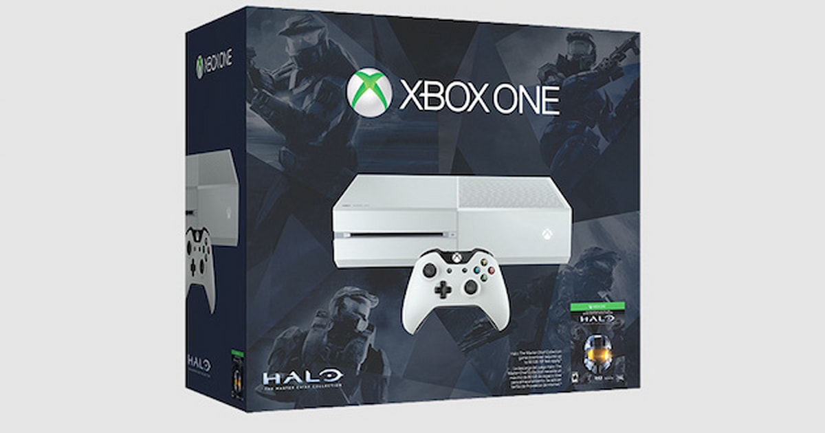 White Halo Xbox One Bundle Coming To The Us