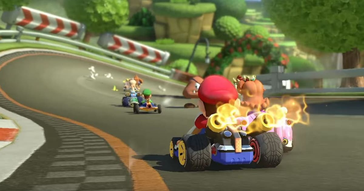 39 mario kart 8 deluxe 39 gets new racers and revives old modes. Black Bedroom Furniture Sets. Home Design Ideas