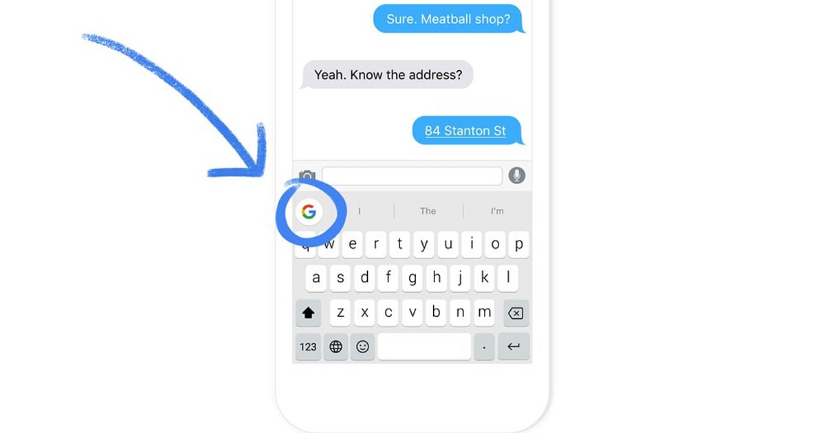 Google's iOS App Comes with its GIF-friendly Keyboard on the Side