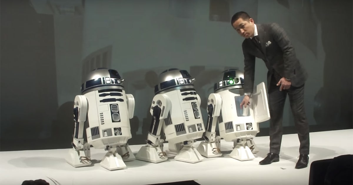 Mini Fridge Disguised As A Life Size Mobile R2 D2 Is Up