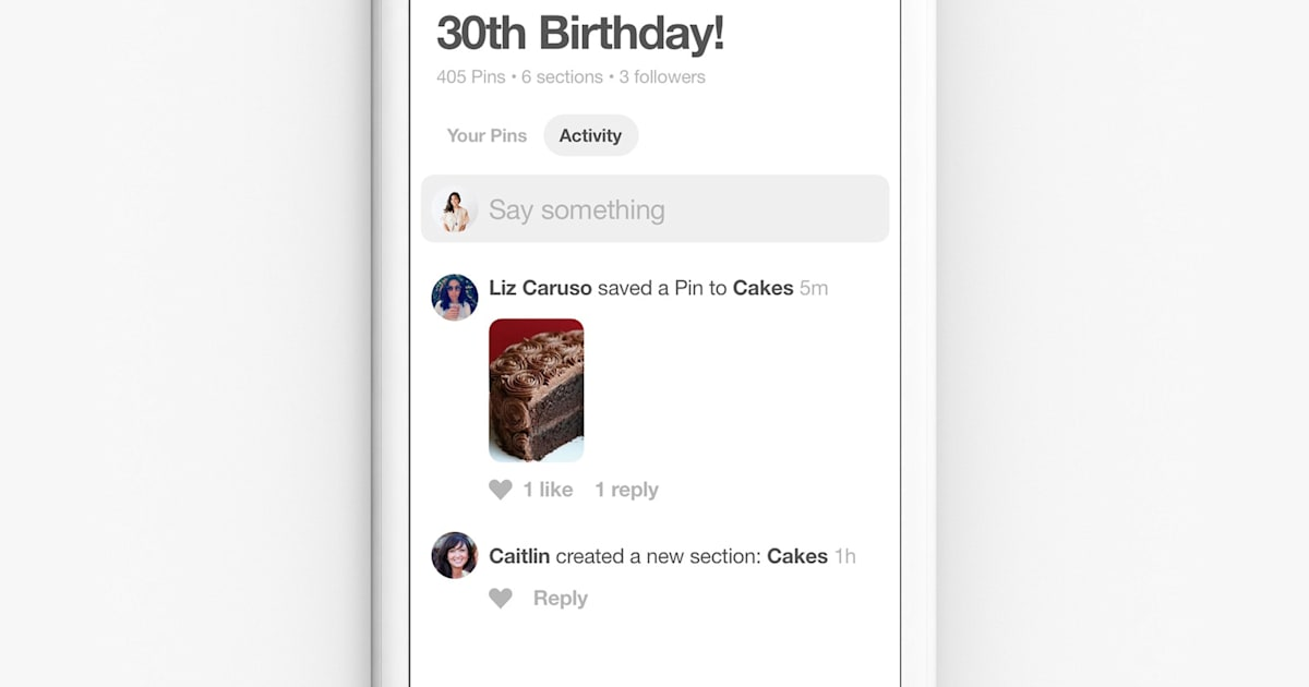 Pinterest Makes it Easier to Collaborate on Group Boards